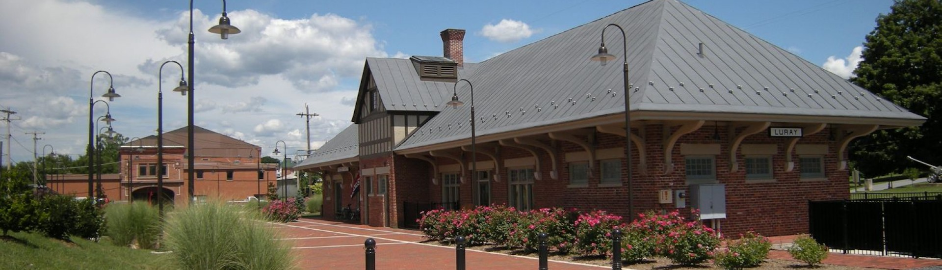 Luray Train Station today, Luray Visitor Center, Page County Chamber of Commerce.